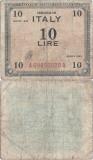 1943 , 10 lire ( P-M13b ) - Italia