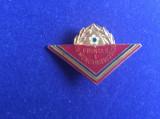 Insignă pionieri - Insignă România - Insignă Fruntaș în munca patriotică