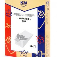 Sac aspirator KARCHER 2501, hartie, 5X saci, K&M
