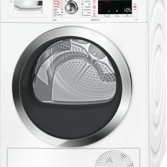 Uscător de rufe cu condensare şi pompă de căldură cu ActiveSteam Bosch, 9.0kg, A++, Alb, WTW85540EU