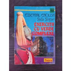 EXERCITII CU VERBE COMPLEXE - STELA SLAPAC