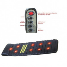 Saltea pentru masaj si incalzire cu infrarosu
