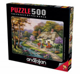 Cumpara ieftin Puzzle Anatolian Spring Cottage, 500 piese
