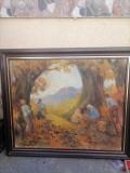 Vand tablou Csikos Antonia, Natura, Ulei, Impresionism, General