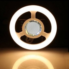 Lampa LED 24W 26cm Alb Cald E27 cu Boxa Muzica Bluetooth