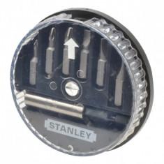 Set 6 varfuri de insurubat si adaptor magnetic 1-68-738 STANLEY
