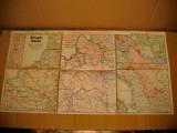 B681-WW1- Harta militara de razboi veche 1915 Germania. Nr. 61: 29 Noem.- 6 Dec.