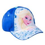 Sapca fete Frozen Elsa albastra