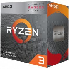 Procesor AMD Ryzen™ 3 3200G, 6MB, 4.0GHz, Radeon™ RX Vega 8 Graphics cu Wraith Stealth cooler