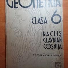 manual de geometrie pt clasa a 6-a din anul 1938- prima editie
