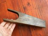 Vechi descaltator din lemn pentru incaltaminte / cizme , ghete etc !