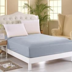 Cearsaf de pat cu elastic Orme Penye Light Grey 100x200 cm