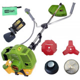 Motocoasa benzina Procraft T4200 Pro, 4.2 kW, 9000rpm, 3 sisteme de taiere + Tambur + Garantie