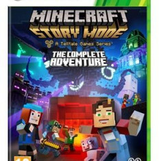 Minecraft Story Mode The Complete Adventure Xbox360