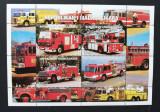 MADAGASCAR 1999- 1x Masini de Pompieri-M/Sh.-NEOBLITERAT -Mad 26, Transporturi, Africa
