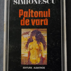 Mircea Horia Simionescu - Paltonul de vară (prefață de Alex. Ștefănescu)