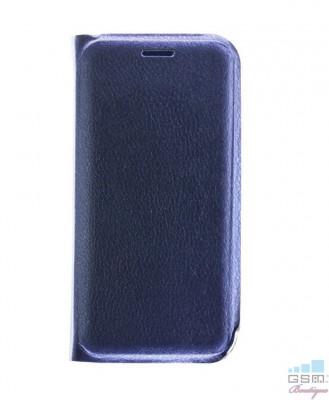 Husa Flip Cover Samsung Galaxy A9 (2018) Albastra foto