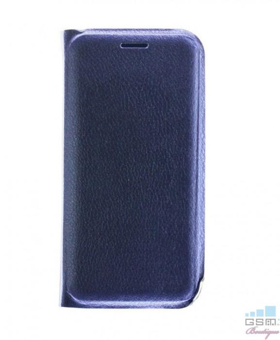 Husa Flip Cover Samsung Galaxy A9 (2018) Albastra