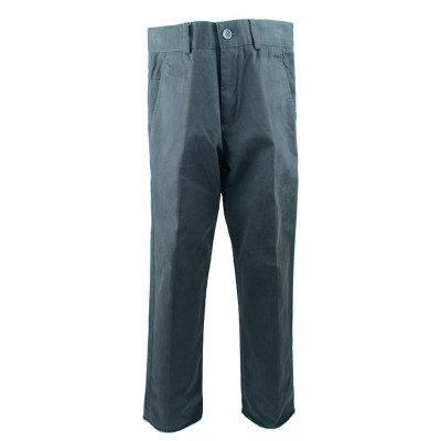Pantaloni eleganti pentru baieti LA KIDS 1316M, Maro foto