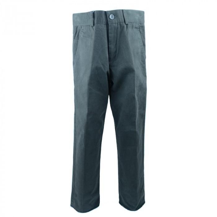 Pantaloni eleganti pentru baieti LA KIDS 1316M, Maro