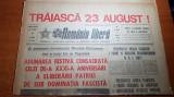 Ziarul romania libera 23 august 1975-nr. cu ocazia zilei de 23 august