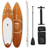 Capital Sports Downwind Cruiser M, paddelboard gonflabil, set , 330 x 15 x 77, portocaliu