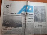 Ziarul azi 15 august 1990-art ziua marinei