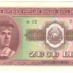 SV * Romania  RPR    10  LEI   1952   SERIA  ALBASTRA     AUNC+ / -UNC