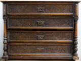 Scrin furniruit 4 sertare an fabricatie 1906