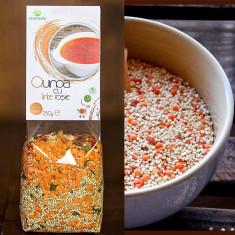 Quinoa cu linte rosie 250 gr.