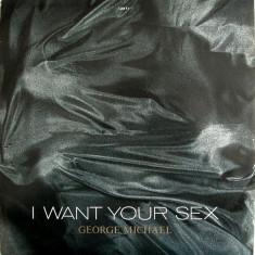 George Michael - I Want Your Sex (1987, Epic) disc vinil Maxi Single