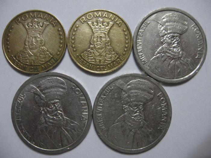 Romania (75) - 20 Lei 1992, 1993, 100 Lei 1992, 1993, 1994