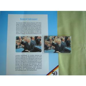 3 Cartele Telefonice 50 Jahre Deutschland - Exponate NOI