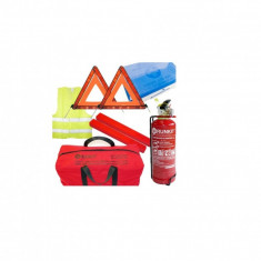 Pachet complet siguranta rutiera omologat RAR+geanta cadou