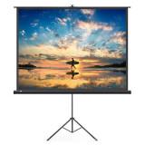 Ecran de proiectie 100 inch, format 16:9 , suport trepied cu inaltime ajustabila, portabil