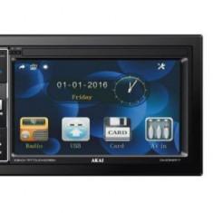 Player auto 2 DIN Akai A-2DIN2217, display 6,2inch, 4 X 25W RMS, USB, AUX, SD