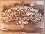 Fotografie veche - absolventii Scolii speciale de tractiune Iasi 1929-1930, Portrete, Romania 1900 - 1950