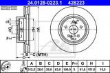 Disc frana RENAULT MEGANE II (BM0/1, CM0/1) (2002 - 2011) ATE 24.0128-0223.1