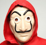 Costum masca Casa del Papel Dali Money Heist Fabrica de bani Cosplay Halloween, XL, XXL, Din imagine