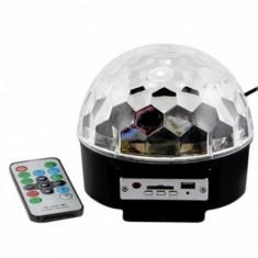Cumpara ieftin Glob disco cu Mp 3 player si telecomanda