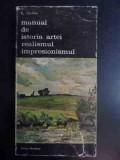 Manual De Istoria Artei Realismul Impresionismul - G.oprescu ,542677