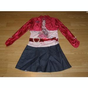 costum carnaval serbare hannah montana pentru copii de 8-9 ani