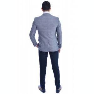 Costum barbat gri