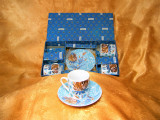 Set portelan ceai cafea Fragonard Paris, colectie, cadou, vintage