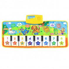Covoras bebe muzical pian Learning Mat