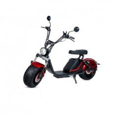 Moped electric Ryde 3.0 , Viteza maxima 45km/h, Autonomie 60 km, Putere motor 1500W (Rosu)