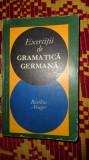 exercitii de gramatica germana ( cu cheia exercitiilor) 479pagini abager