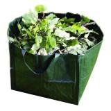 Ghiveci reutilizabil tip sacosa, 7 l, suporta 15 kg, Verde