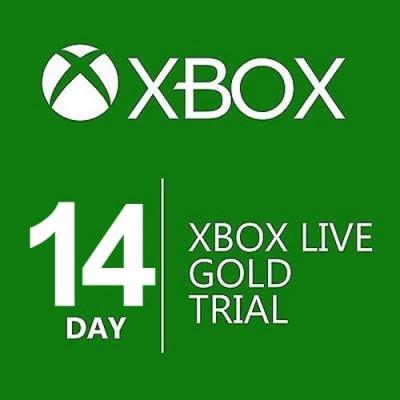 Xbox Live Gold Card Membership ( 14 days) Xbox One / Xbox 360 foto