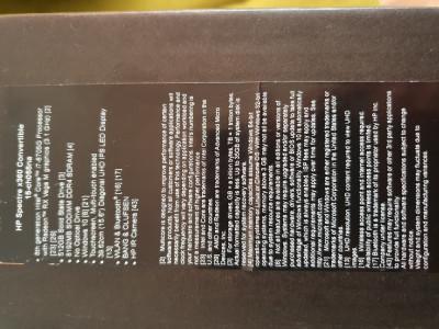 "Laptop HP i7  x360 spectre,sigilat,adus din anglia,15.6"" foto"